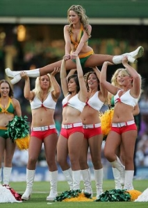 Thank cheerleader nip slip commit