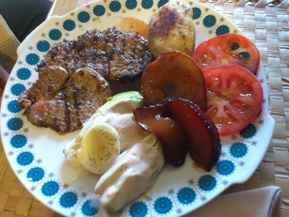4. A Plate of Steaks