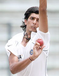 With his express pace and express height, young Ishant has posed some problems for the Lankans