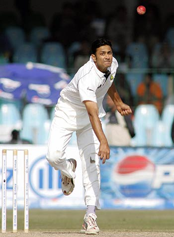 Kumble will be judged as a bolwer as well as a captain.