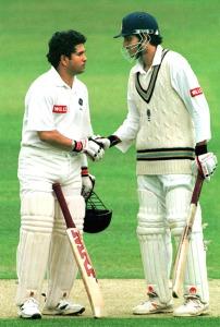 Tendulkar and Ganguly