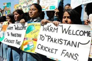 THEY GET WARM WELCOME IN INDIA