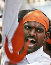Hindu Extremist don't want Pakistanis on their soil either