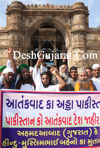 After Mumbai Attacks, people of Gujrat wants Pakistan to be declared as a terrorist country.