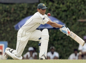 Is Younus Khan's reverse sweep the sole responsibility for losing the test series?
