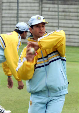 Tendulkar was only removing grass from the ball and not lifting the seam