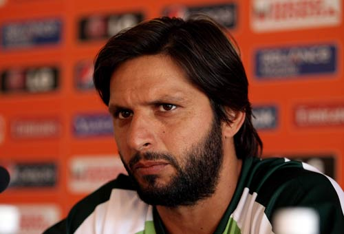AFRIDI MUST THINK BEFORE HE BLABS