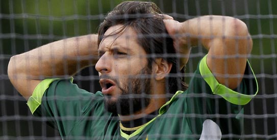 You cannot keep Shahid Afridi behind the scenes