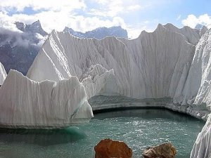 Glacier in Pakistan